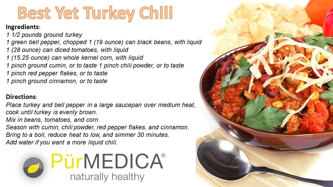 best yet turkey chili | turkey chili, chili ingredients