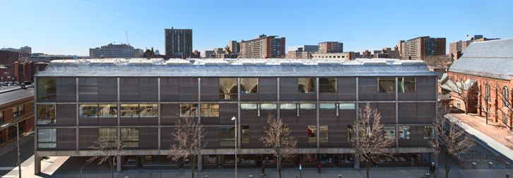 Yale Center For British Art Panoramic Exterior View Photograph