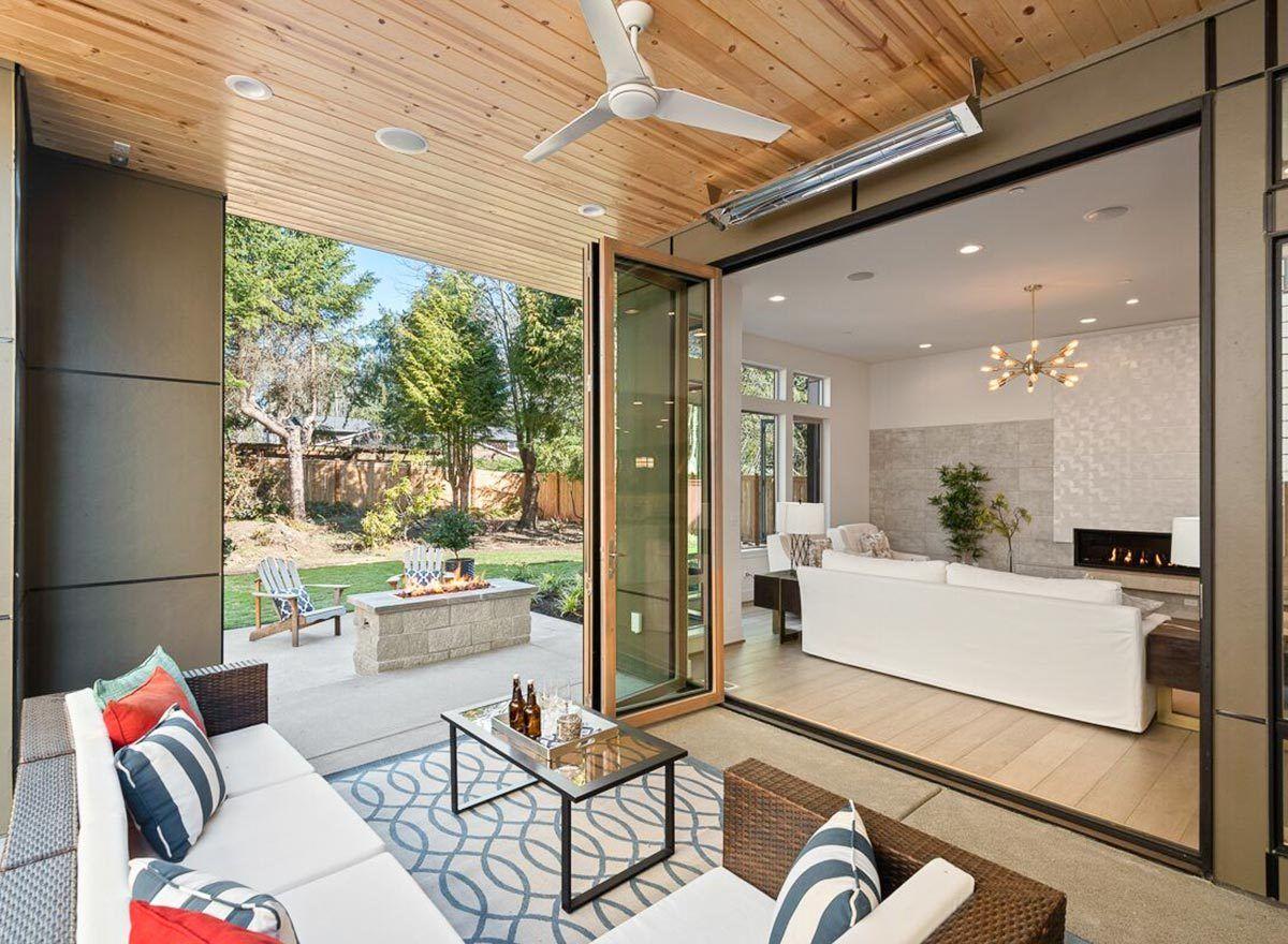 Plan 23703JD: Narrow Lot Modern House Plan in 2020 | House ...