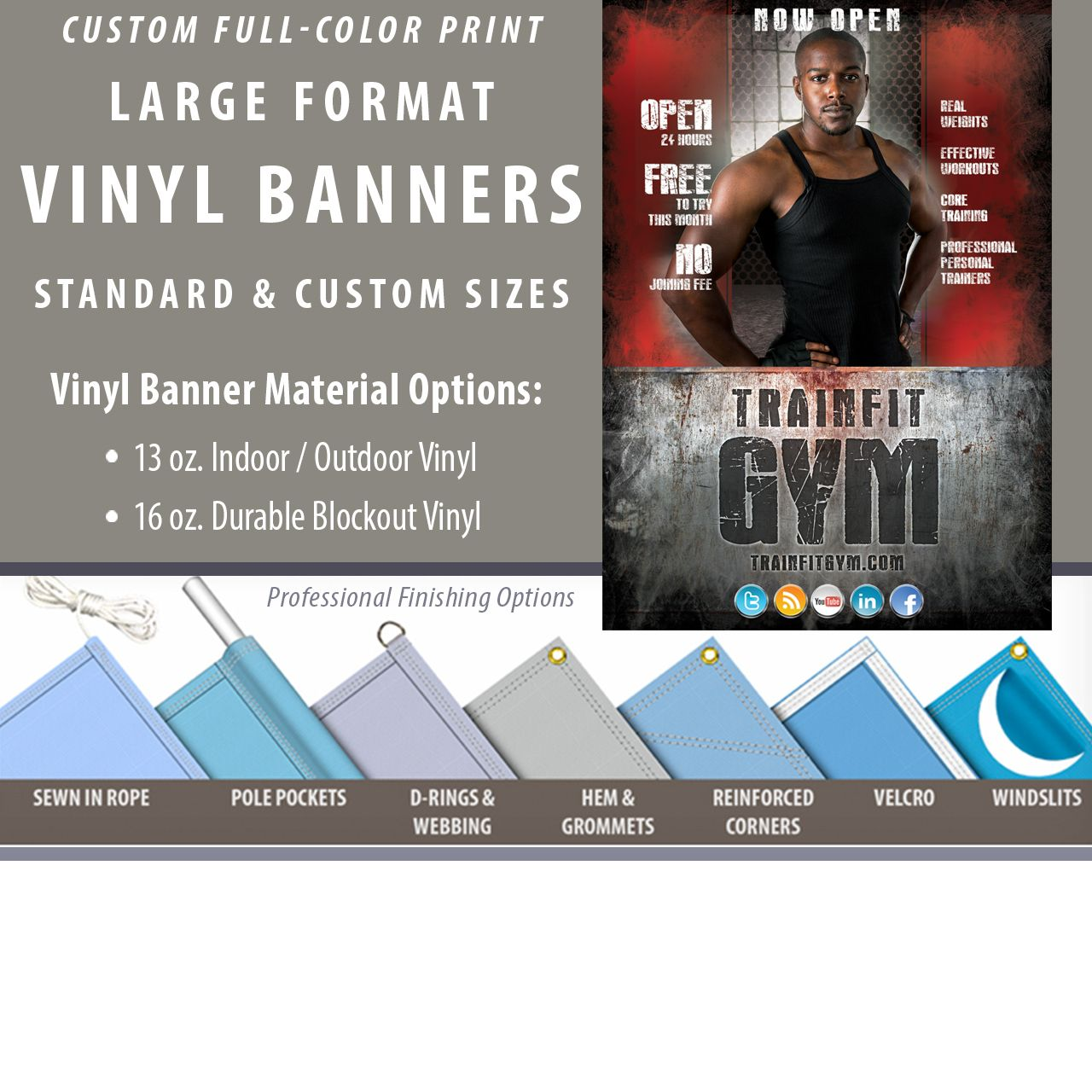 Pin By Twin Graphics On Banners Vinyl Banners Vinyl Banner