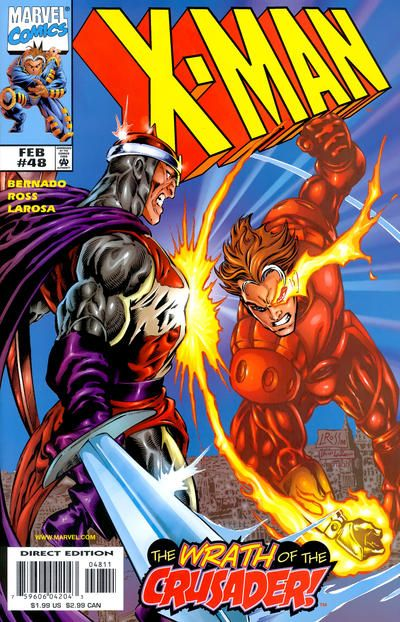 X-Man # 48 by David Ross & Bud LaRosa