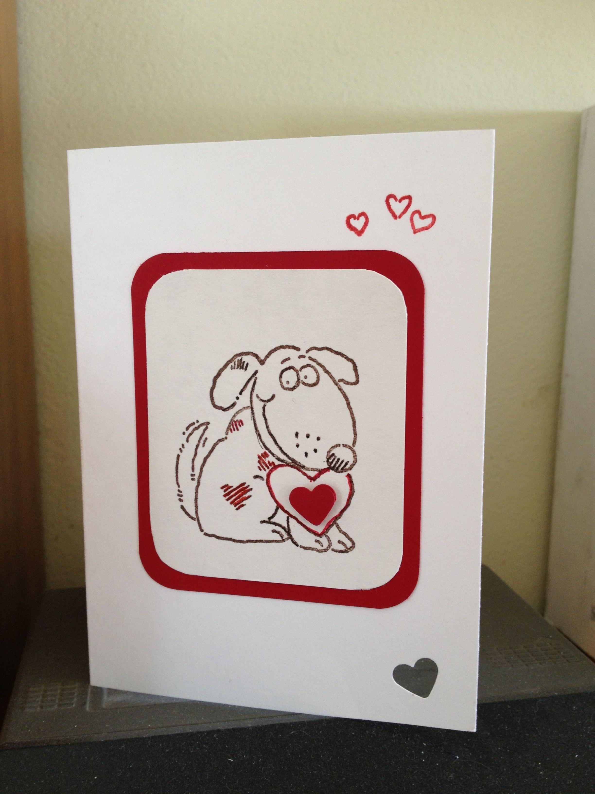 Dave's valentine. SU Animal Valentines