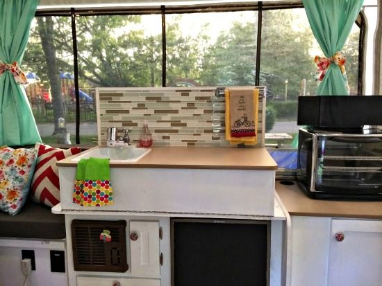 Five Pop Up Camper Makeovers That Will Inspire Amp Motivate