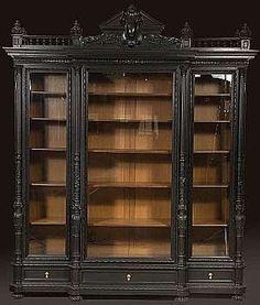 Antique Bookshelves Google Search