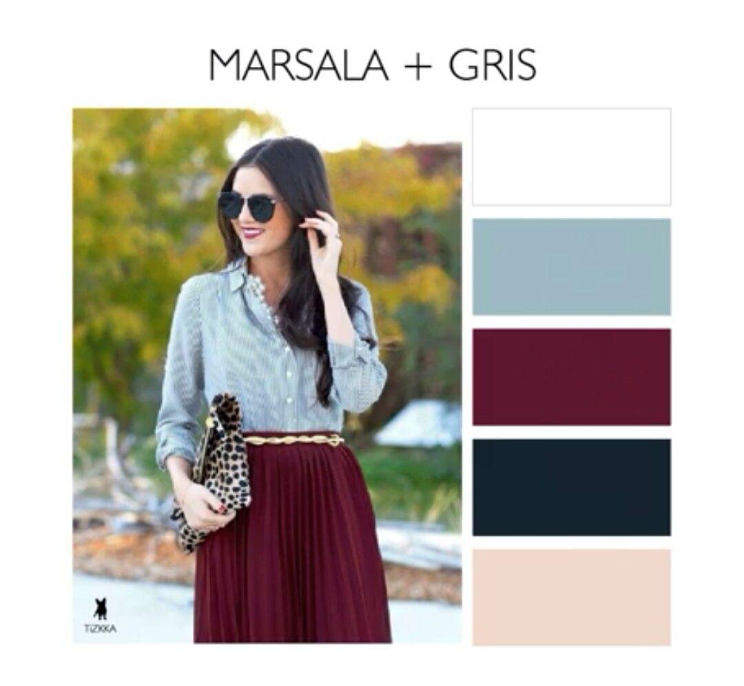 Tizzka tu comunidad de moda pinterest for Q color combina con el gris