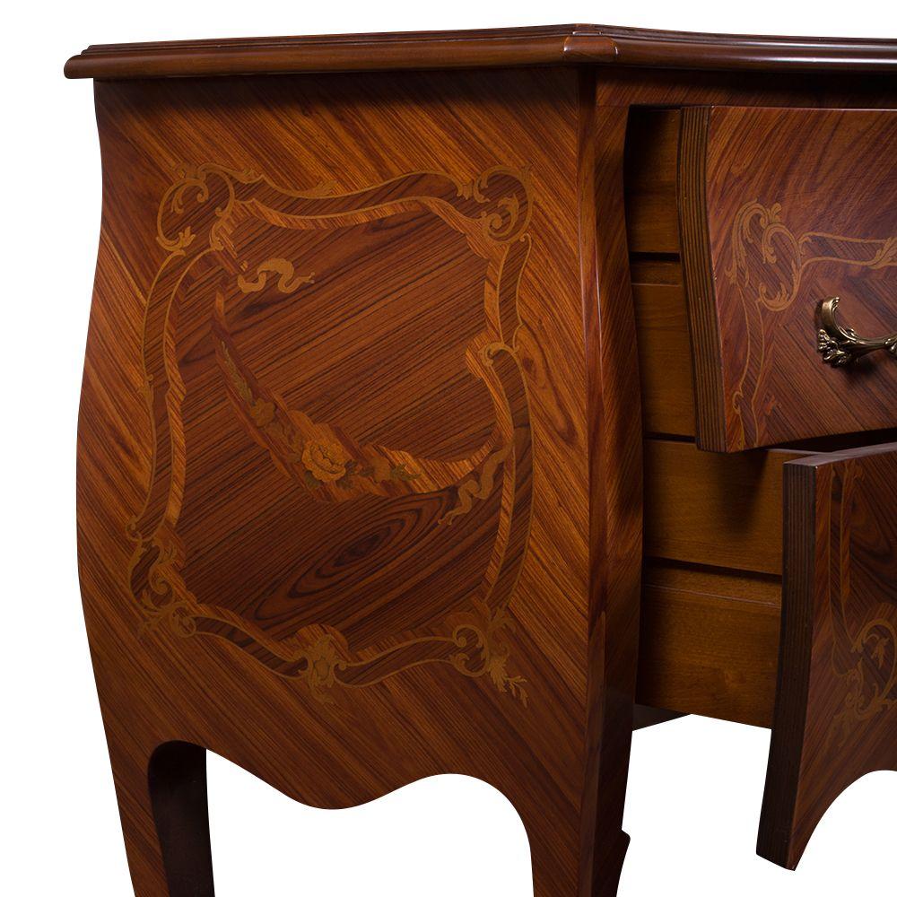 Французский стиль 2-ящика Dresser - BT-мебель