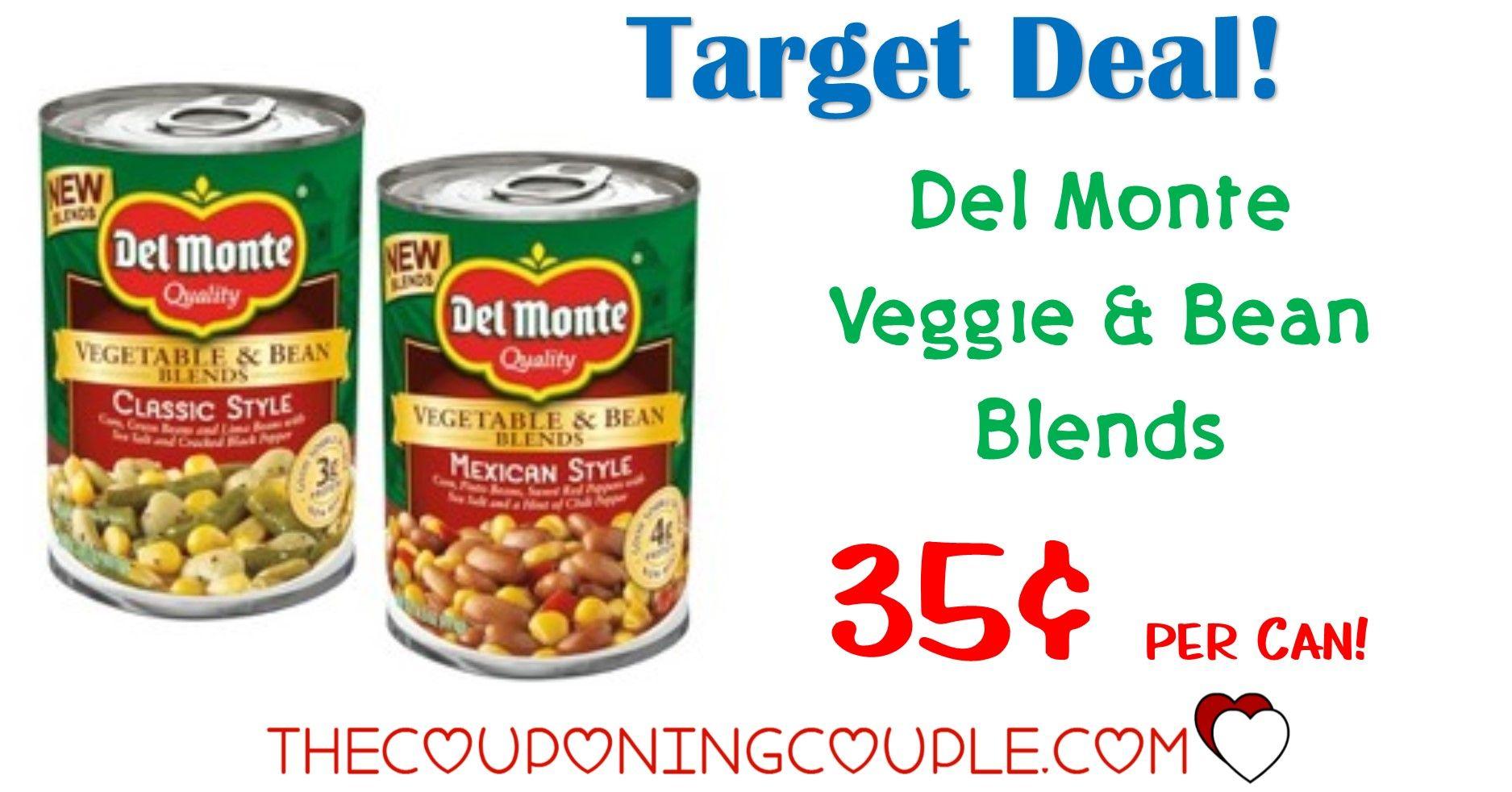 Del Monte Vegetables N Beans Blends 0 40 At Publix 0 99 At