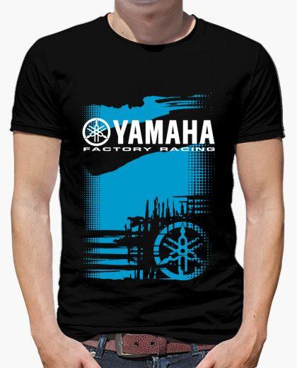 c40f9af5039 Camiseta Yamaha Factory Racing. | Camisetas | Camiseta moto ...