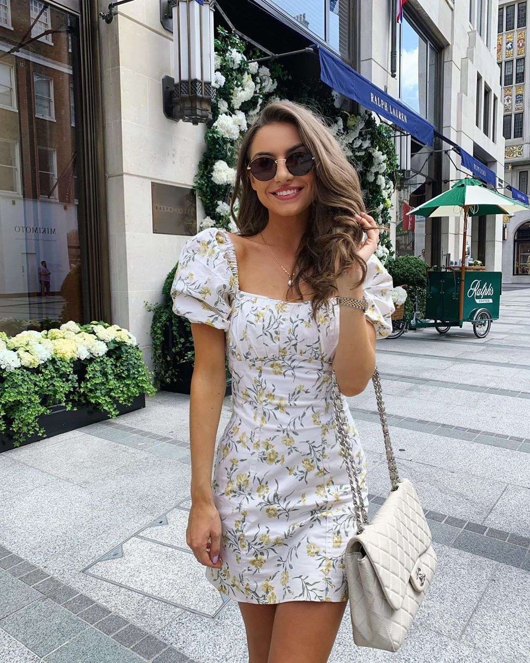 Sophie Knight On Instagram Pretty Little Floral Dresses Outfit Links In Bio Floral Dress Outfits Fashion Girly Outfits [ 1350 x 1080 Pixel ]