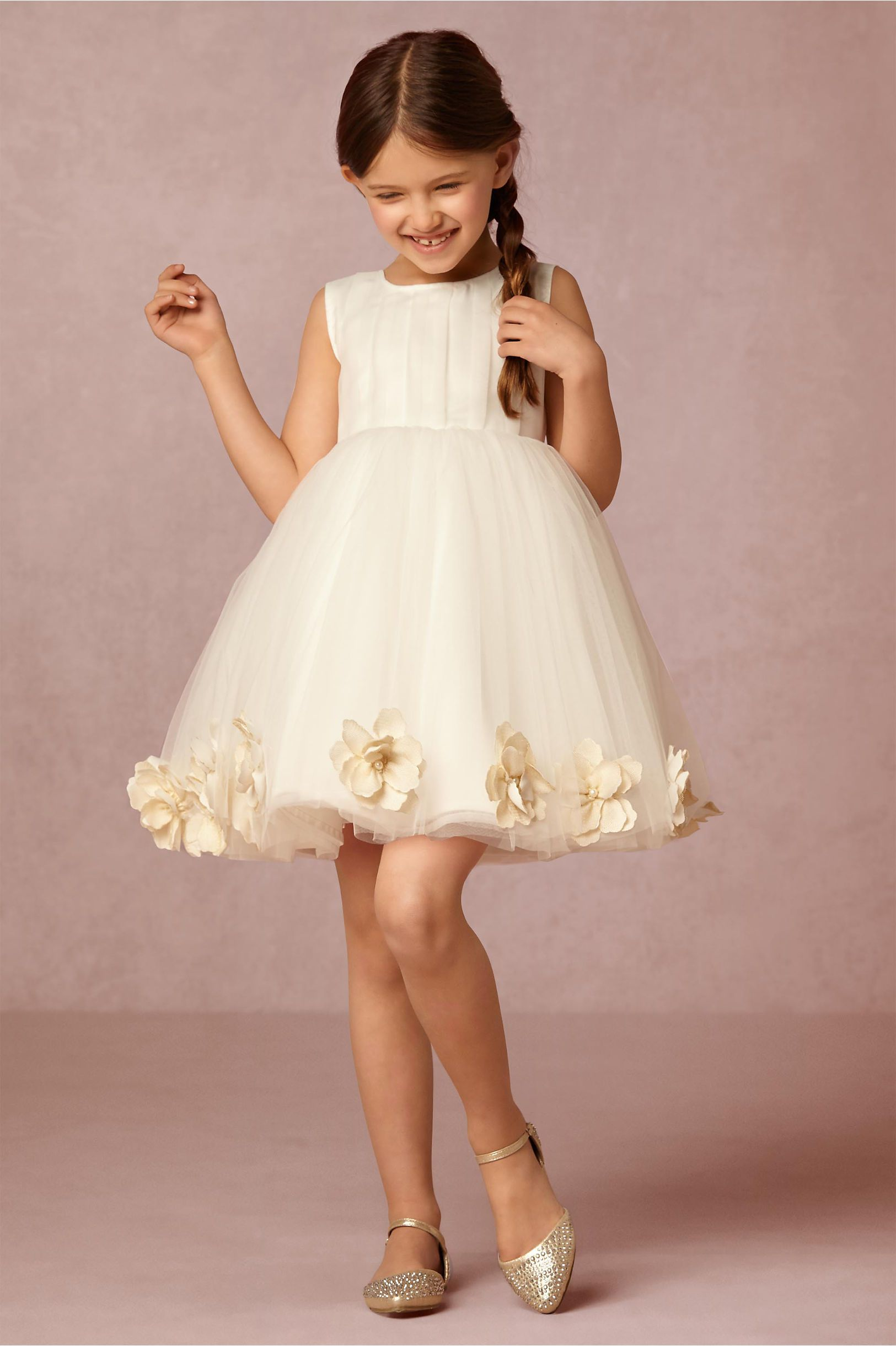 Nellie Flower Girl Dress from BHLDN | Flower Girls & Ring Bearers ...