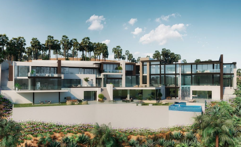 31 000 Square Foot Proposed Mega Mansion In Los Angeles California Luxury Homes Dream Houses Mansions Mansions Homes