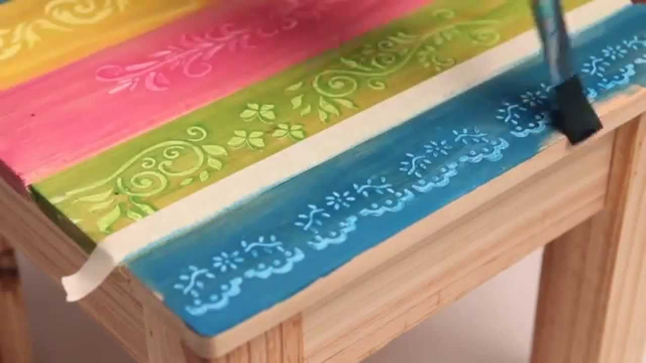 Como utilizar barnices al agua de colores Eq Arte?   Muebles ...