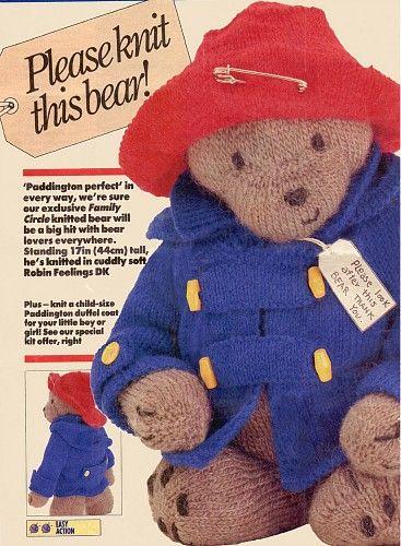 Vintage Teddy Bear Knitting Patterns Knitting Patterns Pinterest