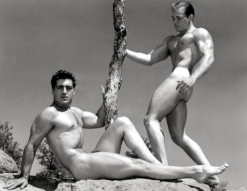 naked vintage male models
