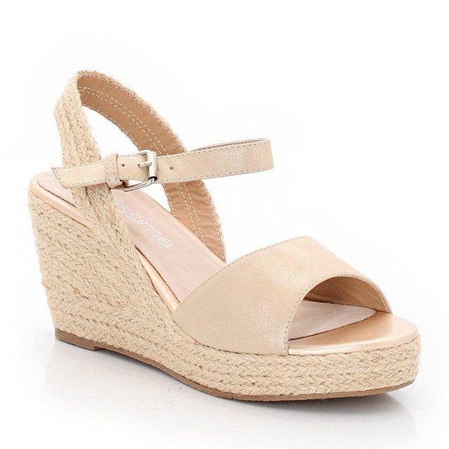 Sandales Compensées Taillissime Chaussures Shoes