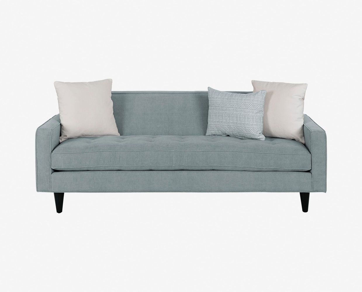 Remarkable Dania Clean Lines Of The Ingrid Sofa Create A Polished Theyellowbook Wood Chair Design Ideas Theyellowbookinfo