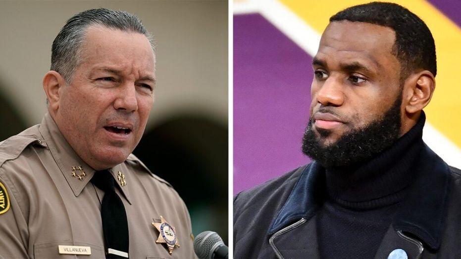 La Sheriff Alex Villanueva Challenges Lebron James To Match Reward Money For Gunman Who Ambushed Two Deputies In Compton In 2020 Lebron James Villanueva Lebron