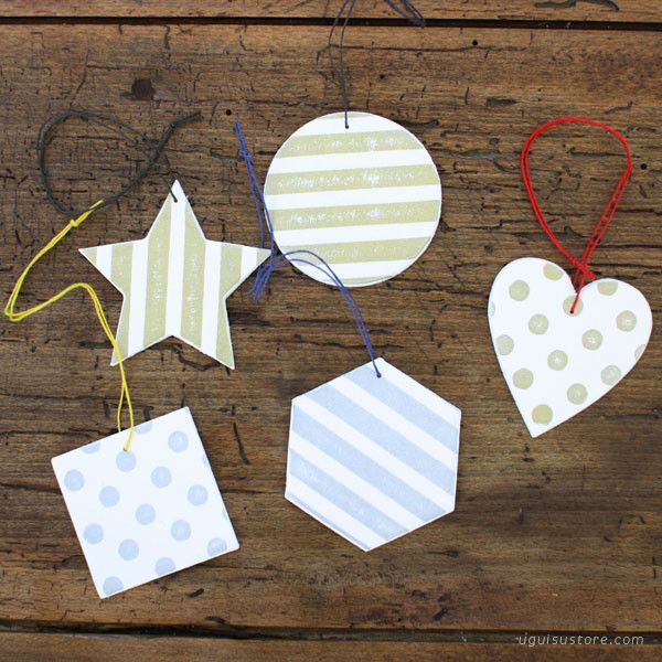 Christmas Paper Ornament/Gift Tags | UGUiSU Online Store