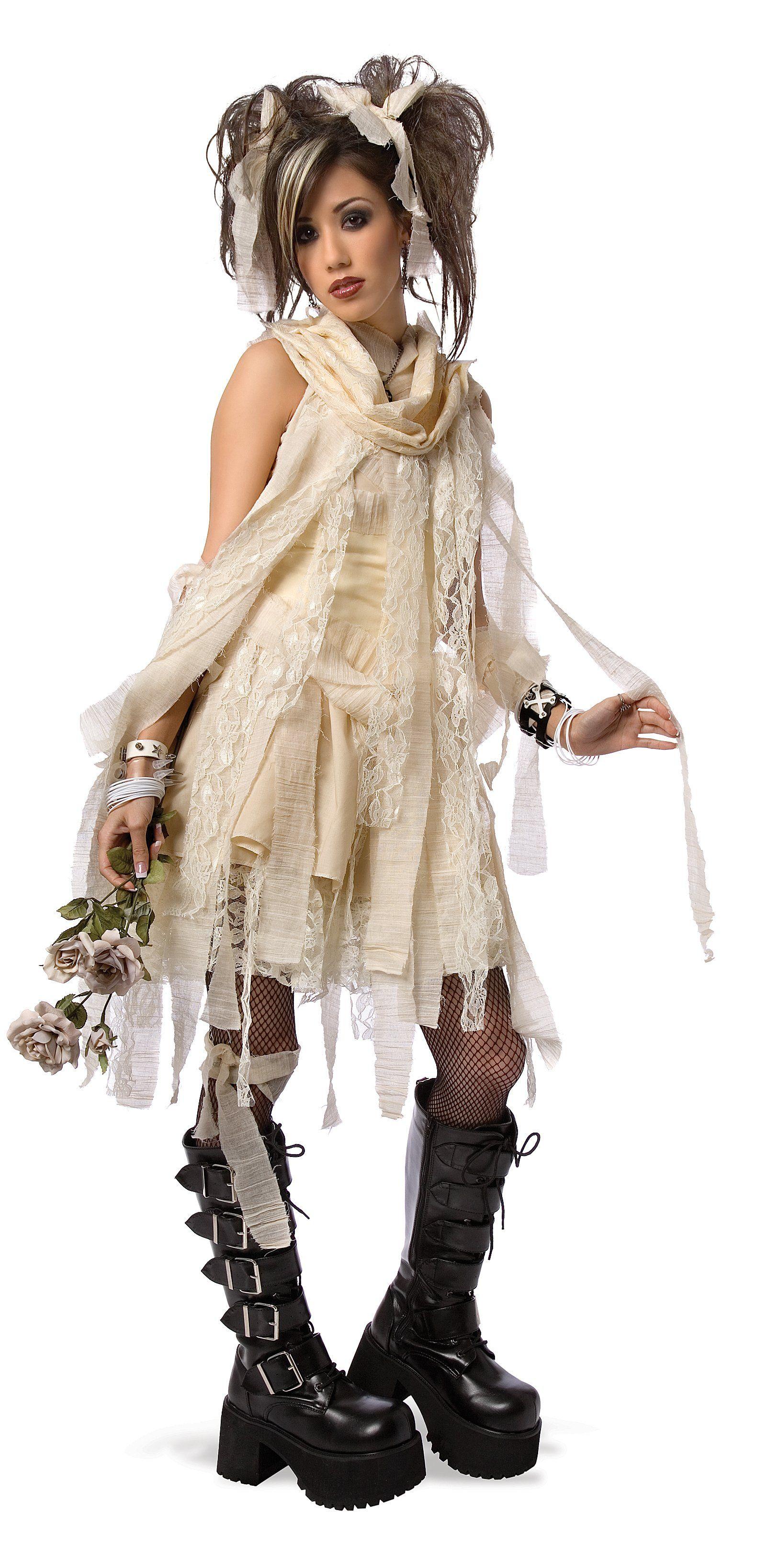 Gothic Mummy Child/Teen Costume - $21.55 - Mummy Costumes at aWise ...
