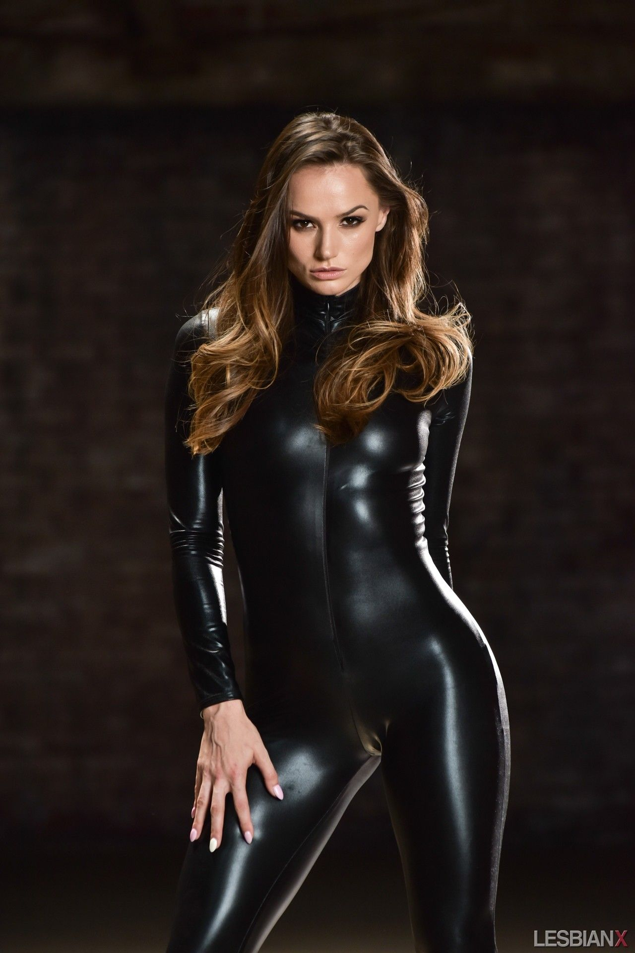 6de411b636a Wet look catsuit