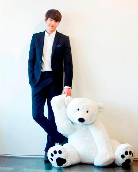 Kim Woo Bin :) #cute