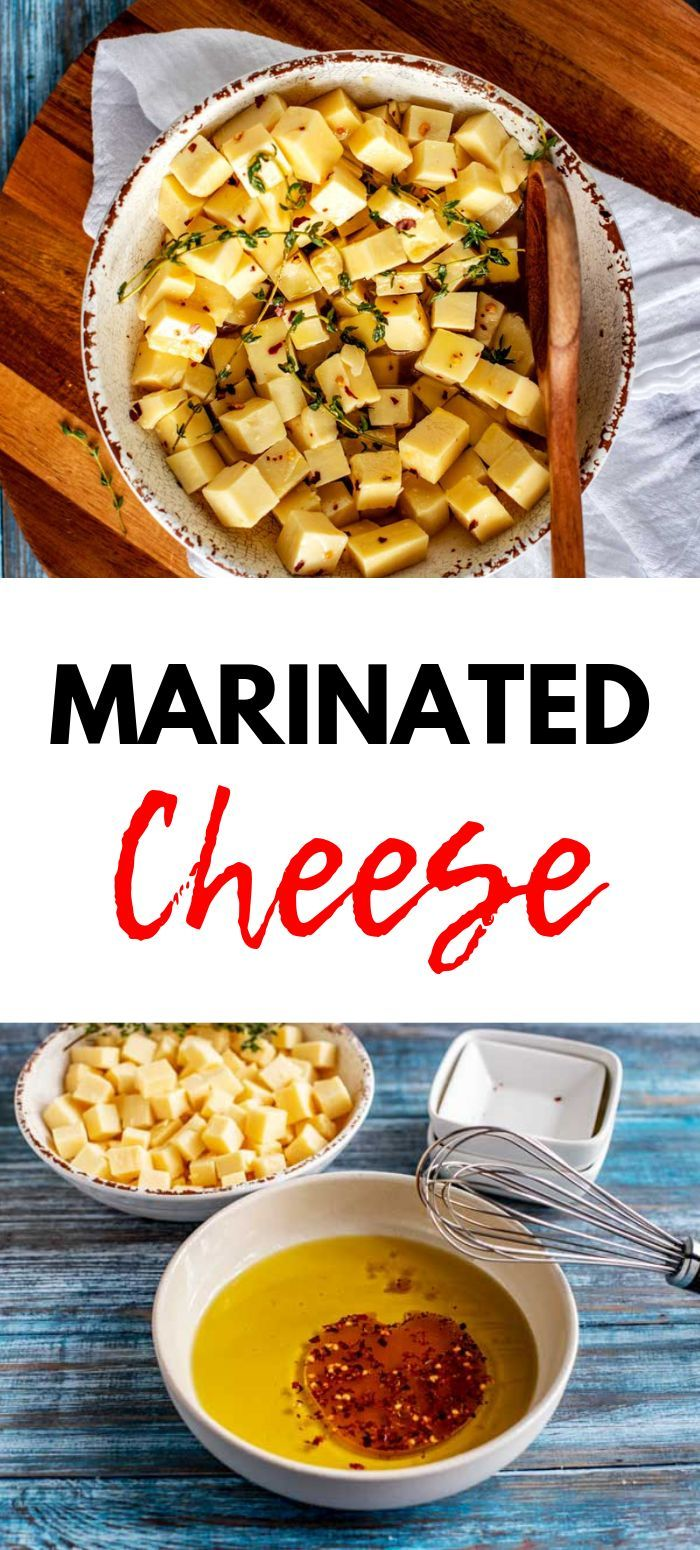 Marinated Cheese Looking for the perfect easy appetizer?  You are going to fall in love with this M