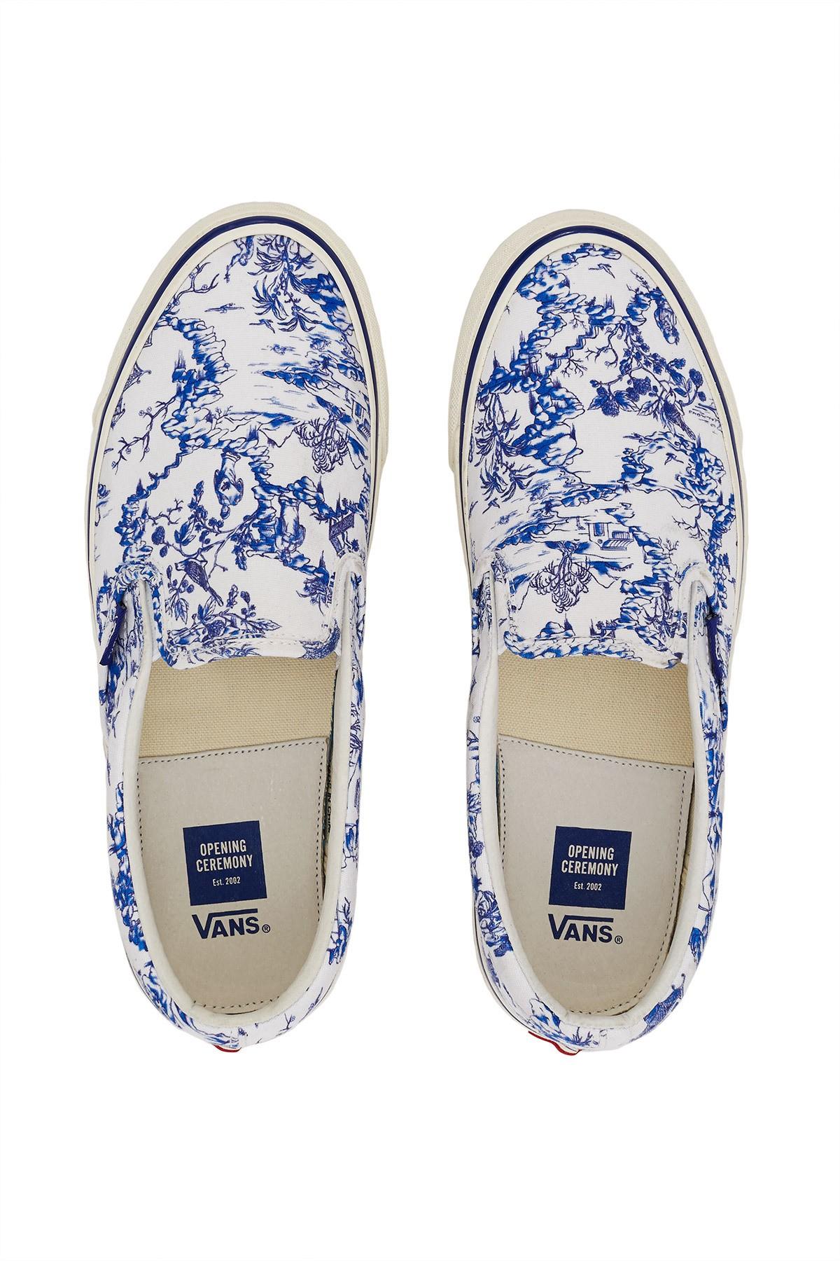 1652deb2735 Vans for Opening Ceremony. Opening Ceremony Chinoiserie Og Classic Slip-On  Lx Sneaker - M 11.5