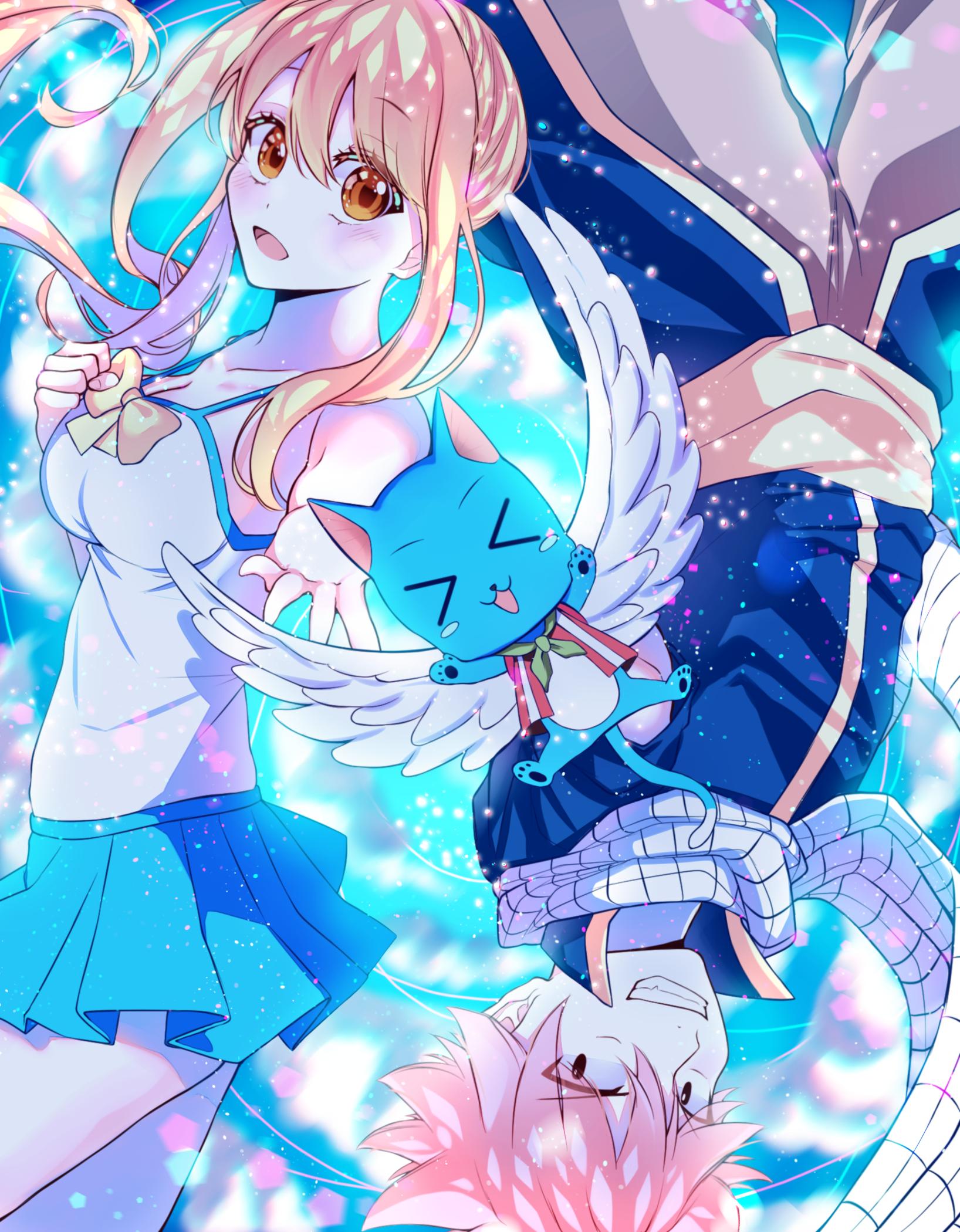 Nalu Natsu Dragneel X Lucy Heartfilia Happy Fairy