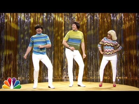 """Tight Pants"" with Jimmy Fallon, Will Ferrell & Christina Aguilera - YouTube"