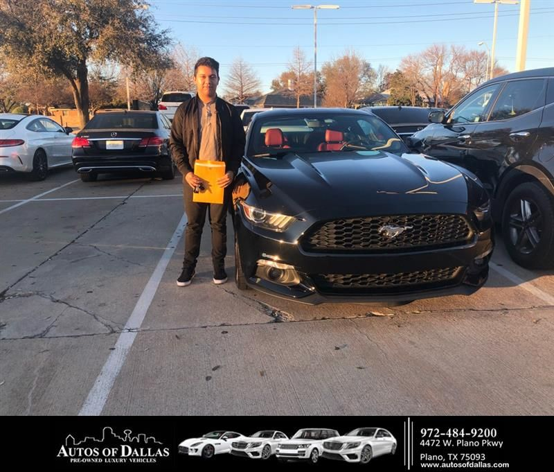 Happy Anniversary to Jesus on your Ford Mustang from