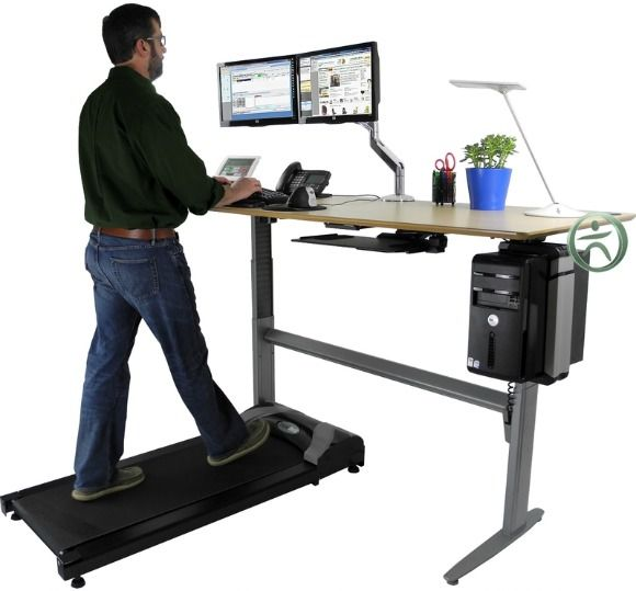Treadmill Desk Funny: Walk While You Work With An Uplift Treadmill Desk