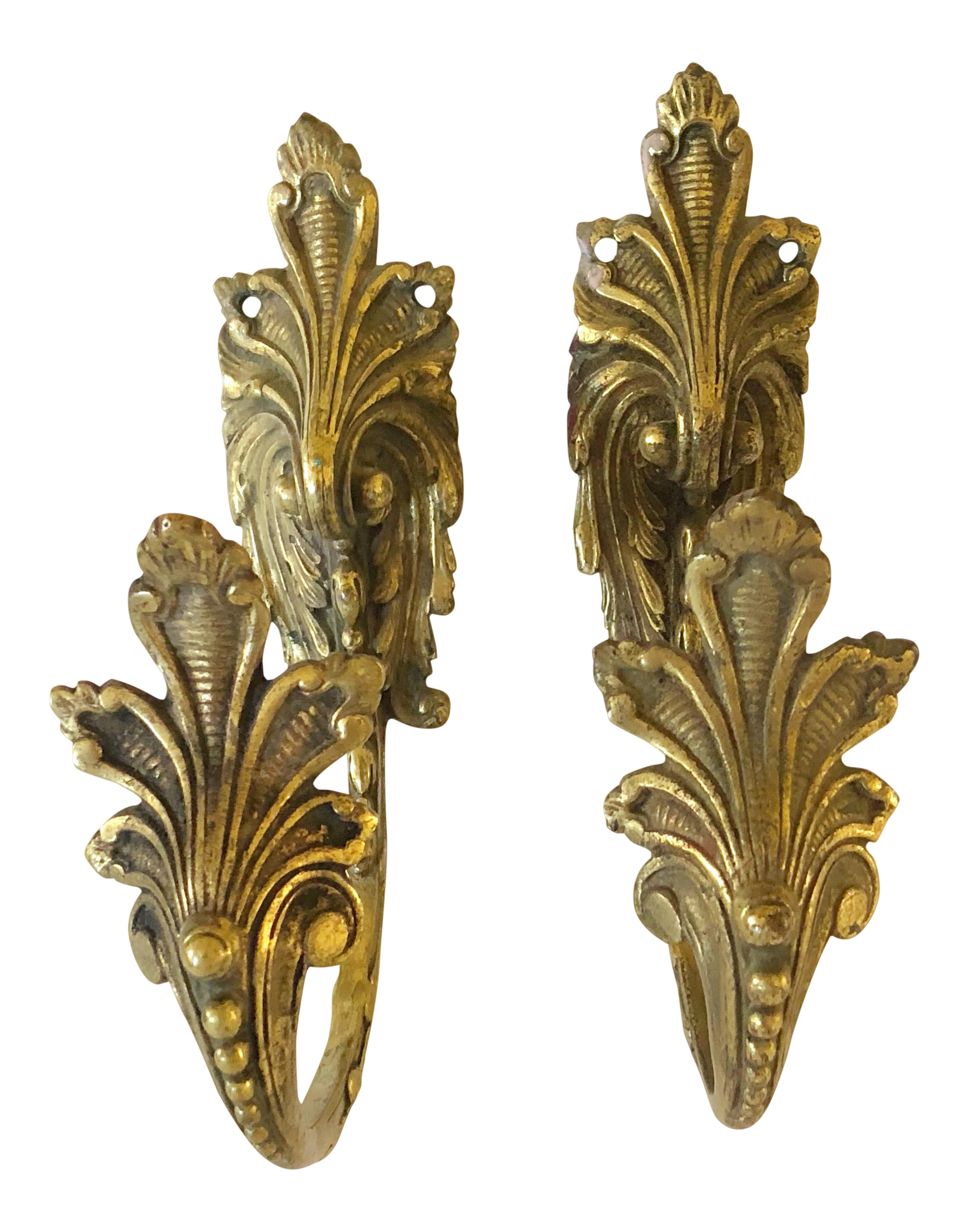 French Bronze Curtain Tiebacks Curtain Tie Backs French Country