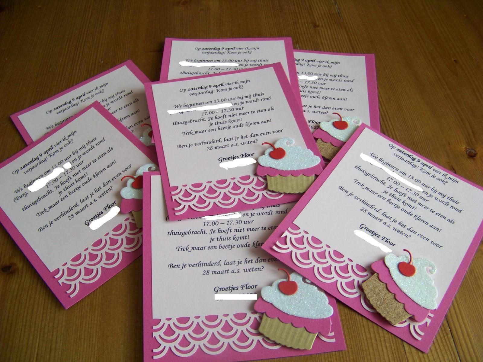 Magnifiek Bedwelming Zelf Uitnodigingen Maken En Printen #USU01 - AgnesWaMu #NJ01