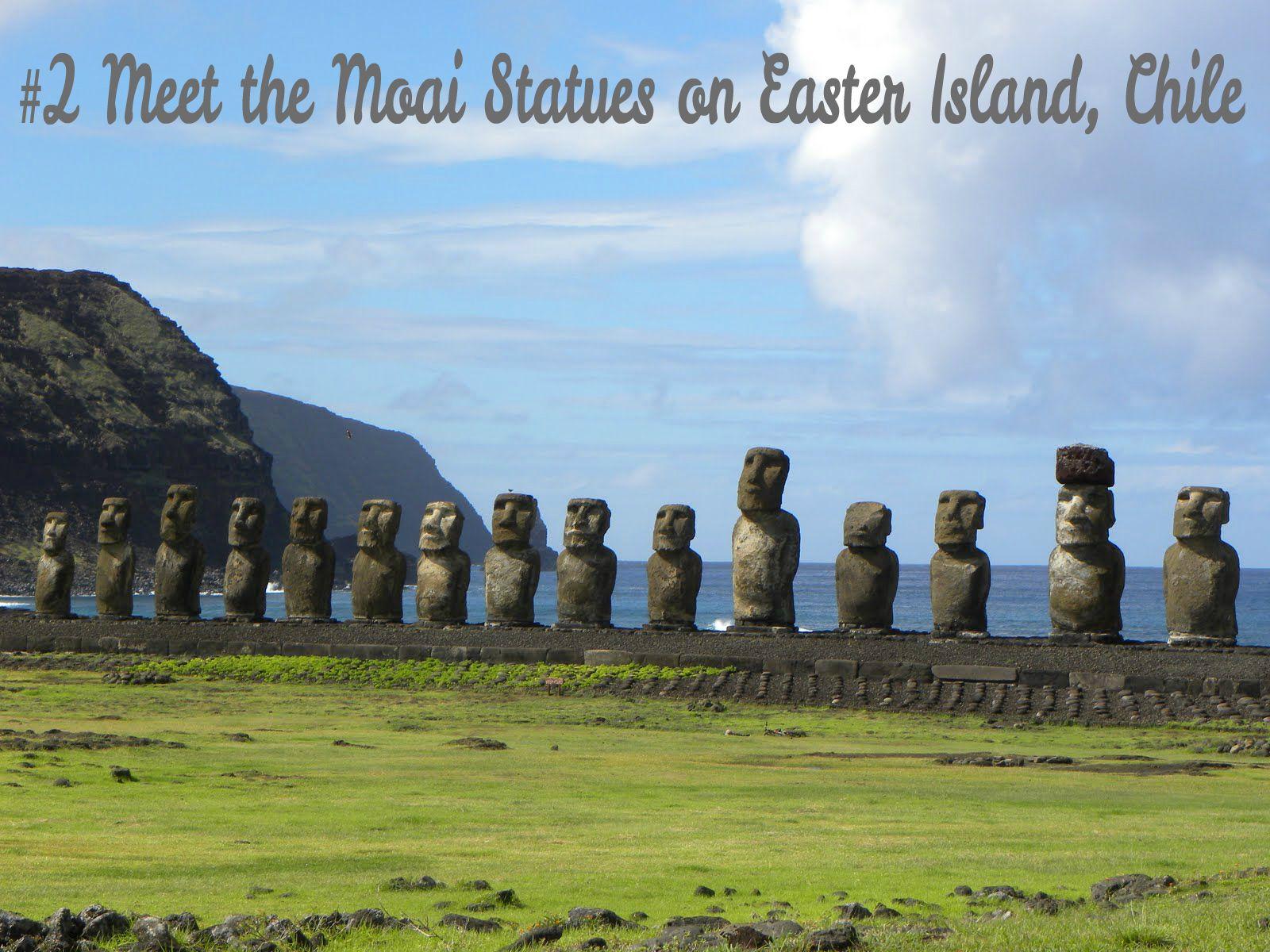 Meet the Moai Statues on Easter Island, Chile