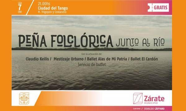 Peña folclórica en Ciudad del Tango  e69a45bc8e4b