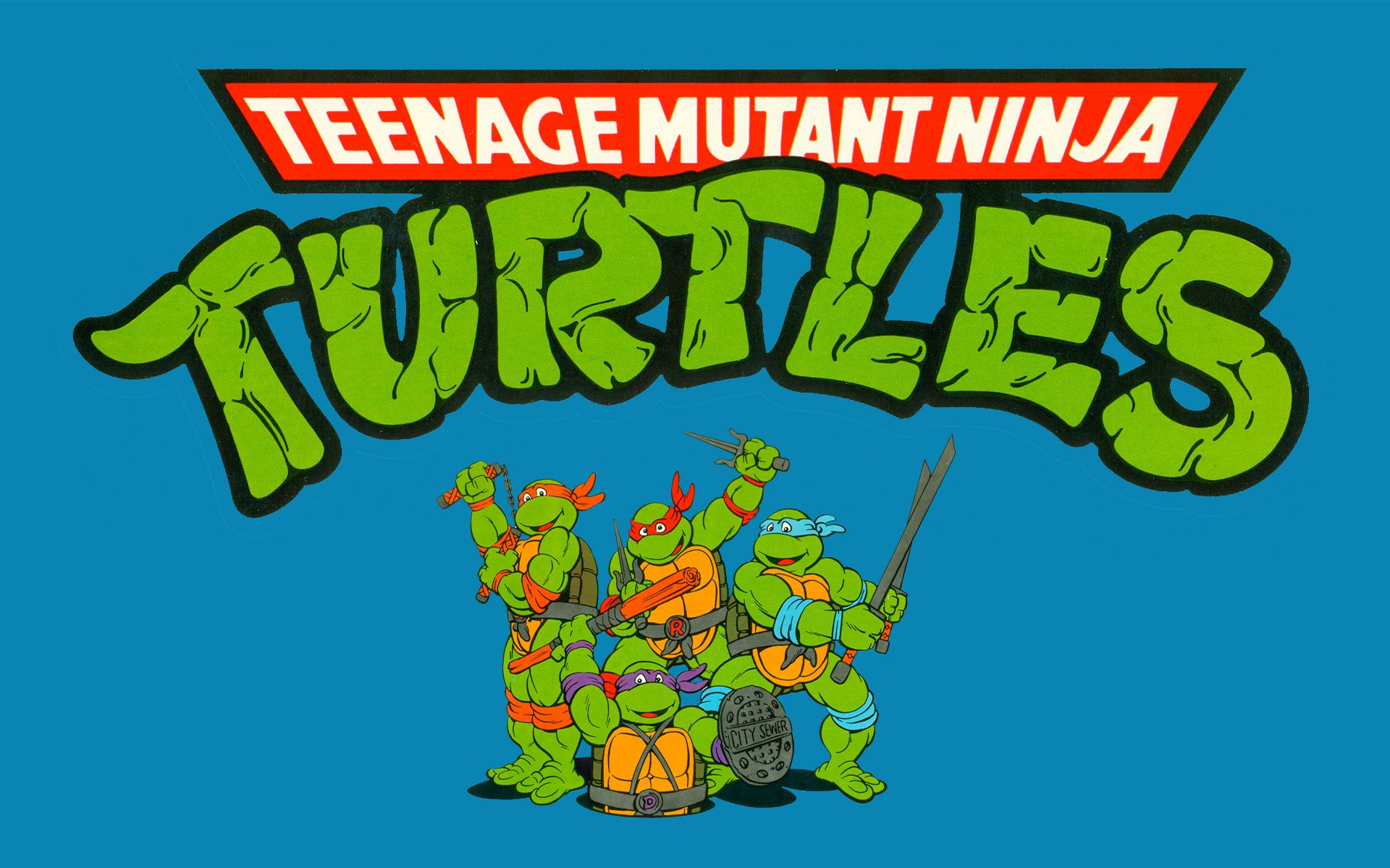 T-shirt Originale Ninja Turtles Got Game Tartarughe Ninja 4 Colori Nickelodeon Other
