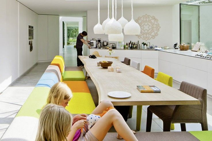 Wohnzimmer esszimmer ~ Innenausbau wohnzimmer innenausbau esszimmer innenausbau haus