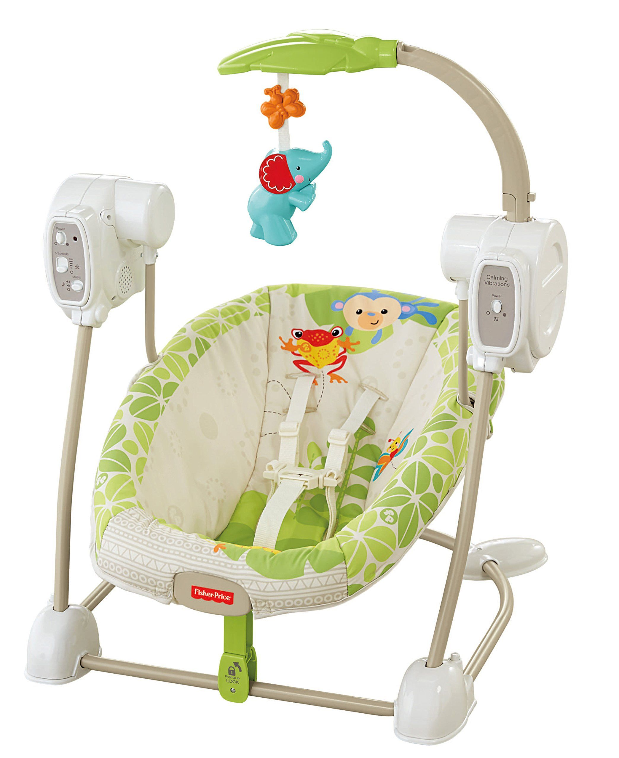 Fisher Price Space Saver Swing And Seat Rainforest Friends