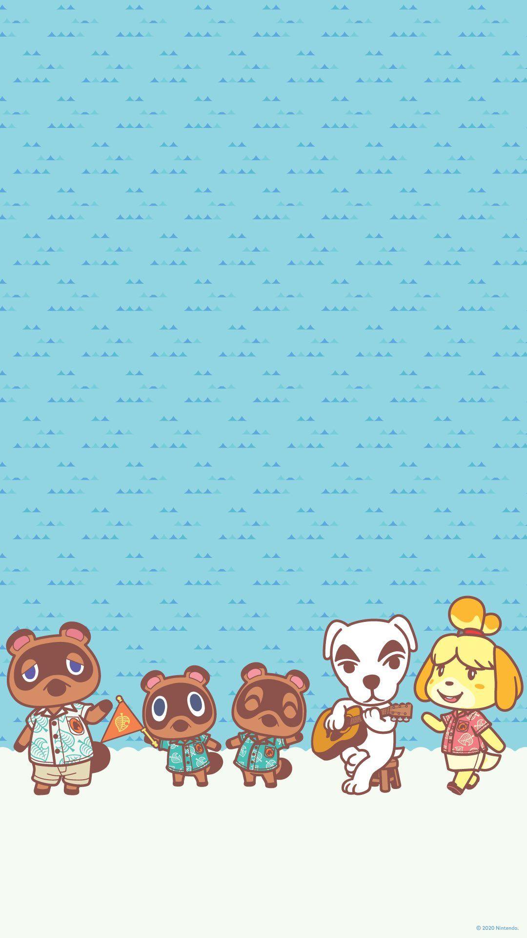 Animal crossing phone wallpaper