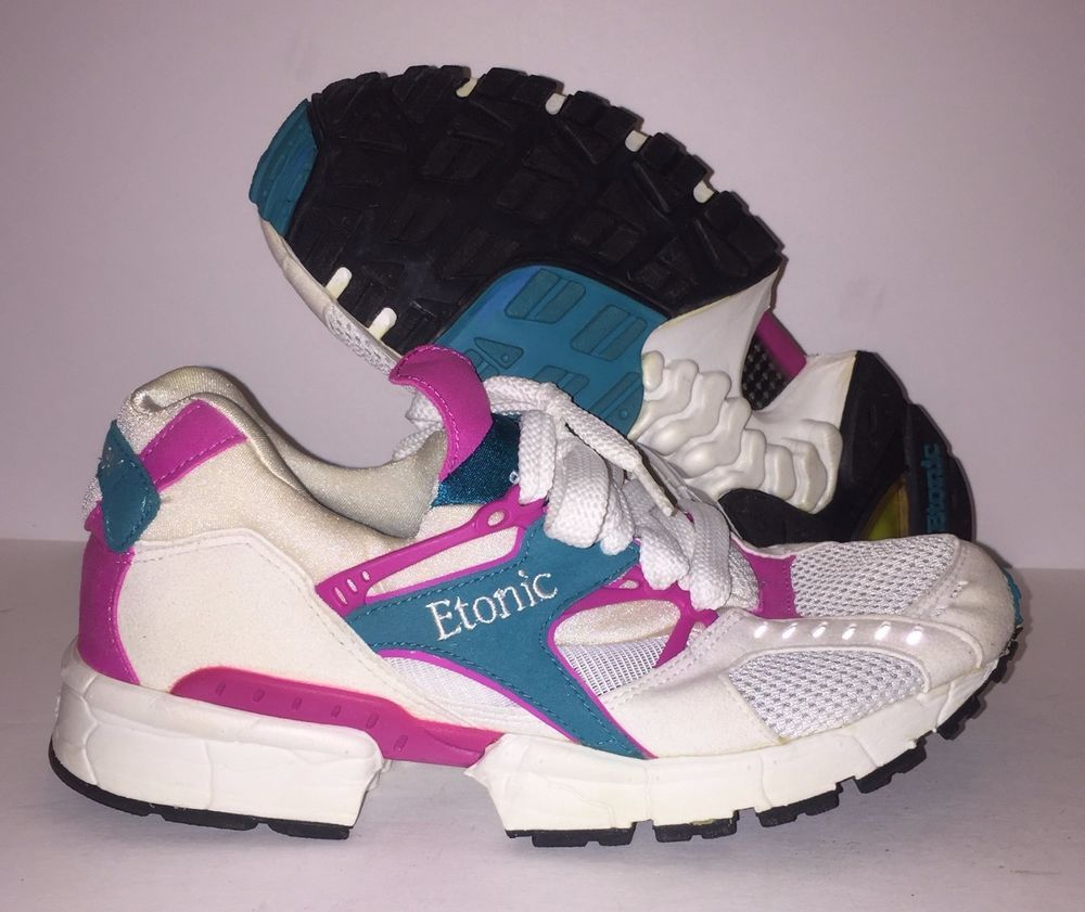 Women s Vintage w  Box 90 s Etonic Stable Air V02 Running Shoe Sneakers 6.5   Etonic  RunningCrossTraining 88323ea35