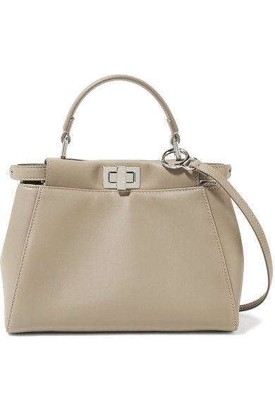 ef328feb160f FENDI. Fendi Peekaboo MiniBrown Shoulder BagsLeather ...