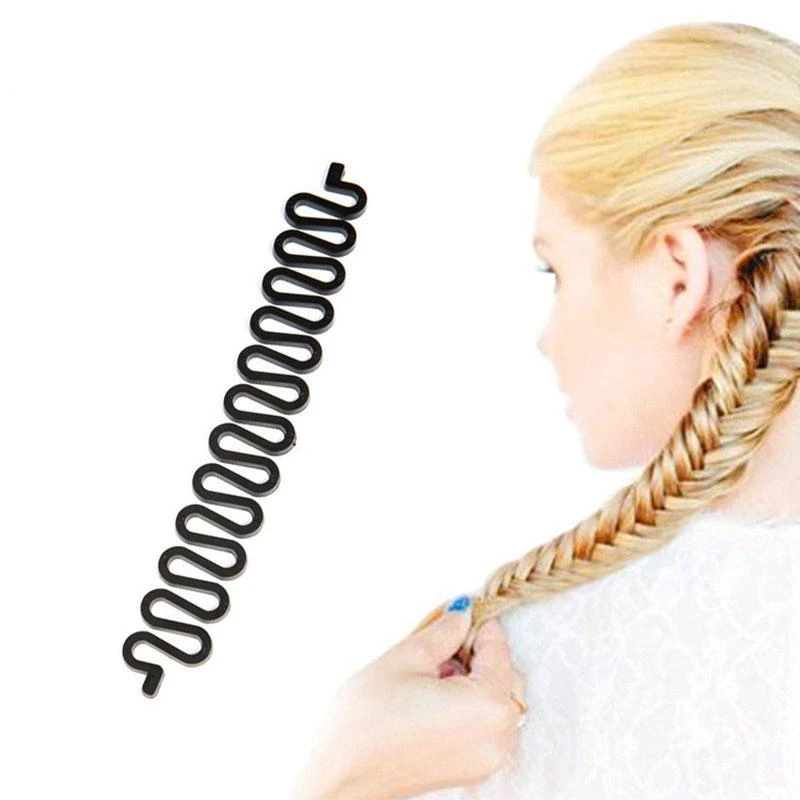 Easter 2pcs//set Chic Braids Pull Hair Needle Ponytail Pigtail Hairstyle Tool