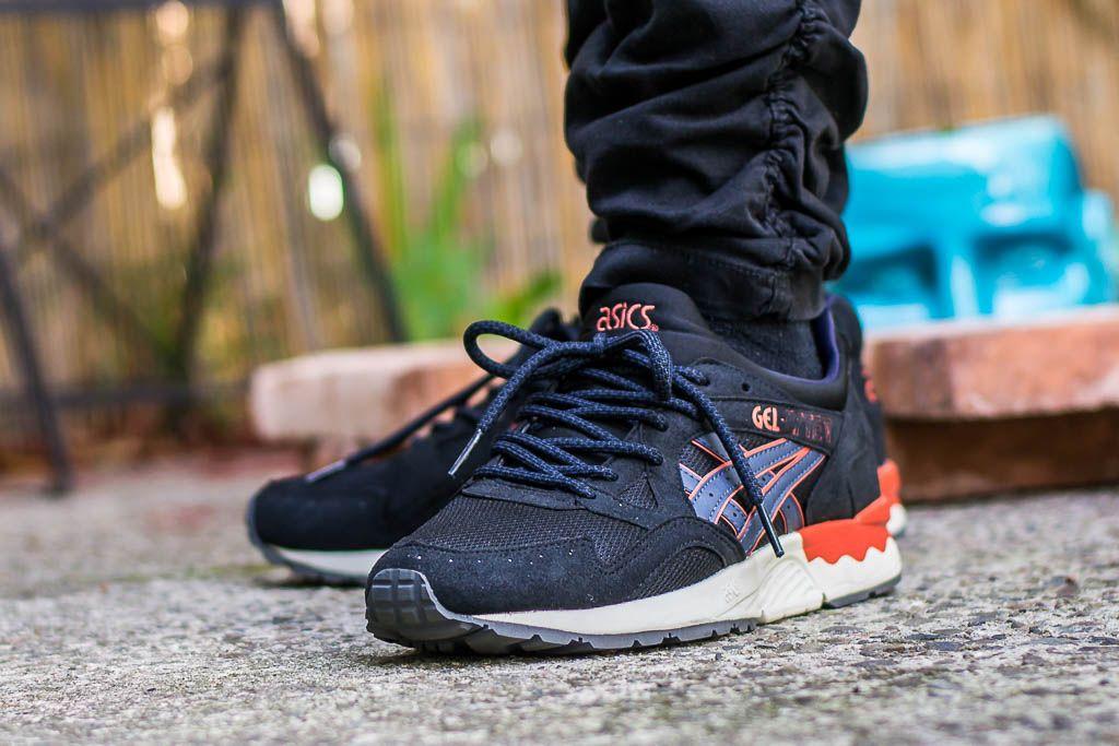 Asics Gel-Lyte V India Ink On Feet Sneaker Review