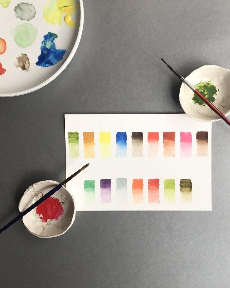 A Palette For Beginners Palette Brush Drawing Art Projects