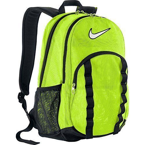 Nike Brasilia 7 Large Mesh Backpack - Neon Yellow ** Don't get ...