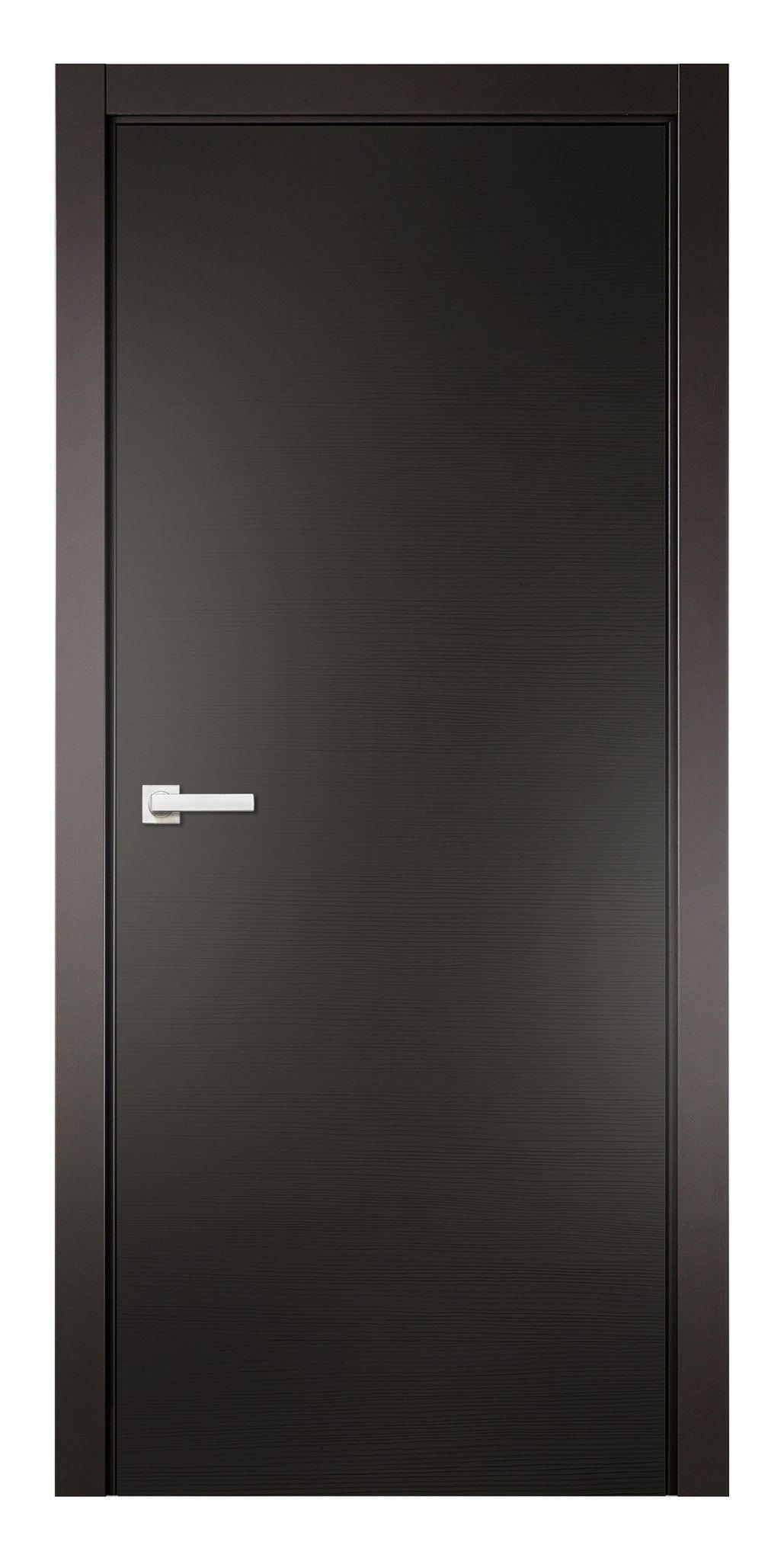 Natural Veneered Wooden Flush Door Design Mdf Living Room: Sarto Avant 4030 Taeda Anthracite Interior Door Is A