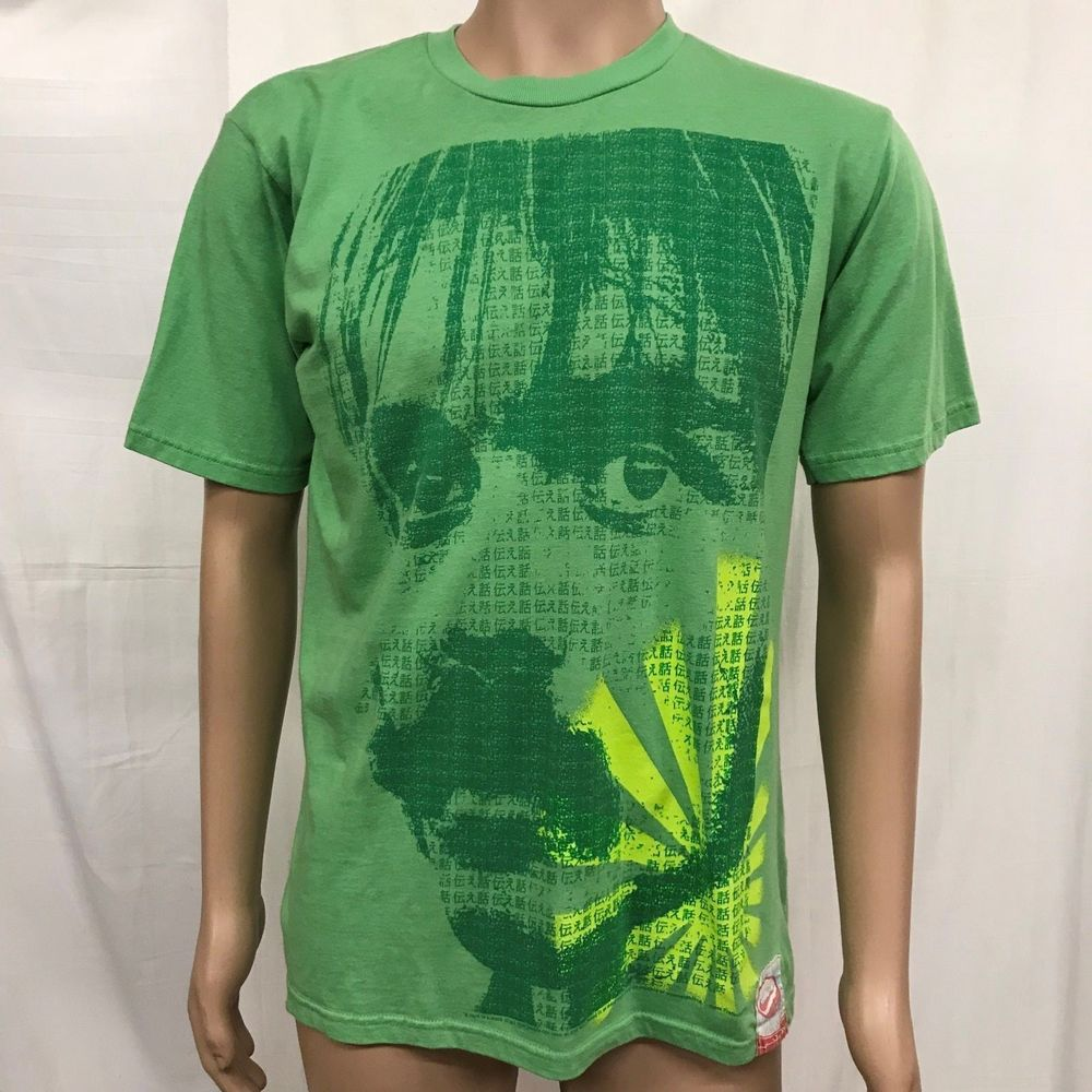53dbadd3 Steve Prefontaine Face Nike T Shirt Adult Large Green Olympic Games Track  Run Race Vintage Running Runner Athlete Retro #Nike #GraphicTee