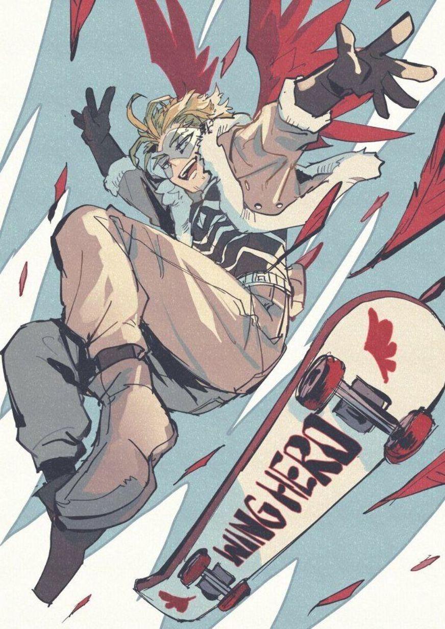 Pin By Monica On Hawks My Hero Hero Hero Wallpaper