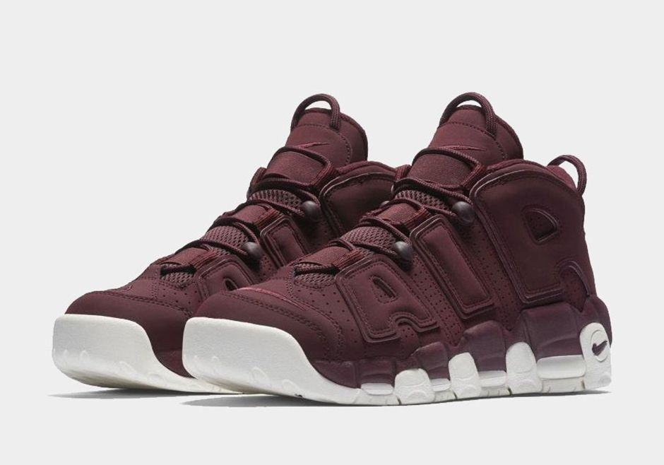 Our First Look At The Nike Air More Uptempo Bordeaux • KicksOnFire.com