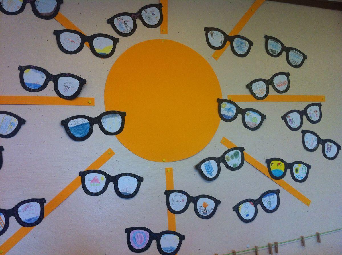 ecd0a8dd490d71 Ieder kind maakt een bril  Wat zie ik door mijn zonnebril ...